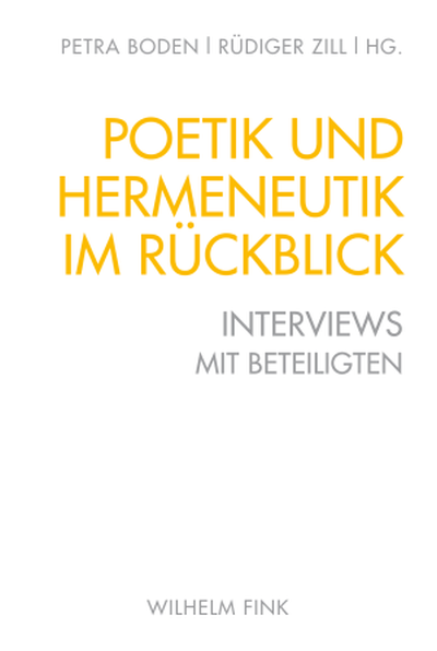 Poetik und Hermeneutik