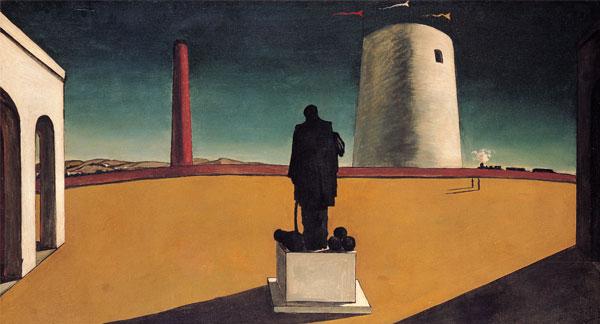 O Enigma de um Dia; Giorgio De Chirico, 1918